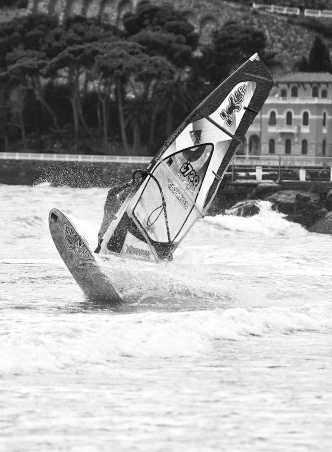 Festival 2013 de vent - marina de Diano photographie stock libre de droits