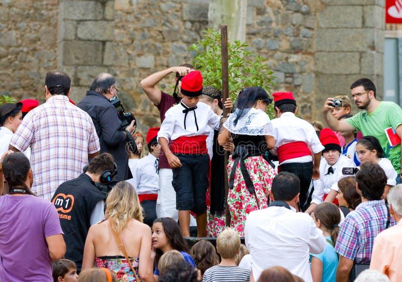 Festival de Verema do La, Alella imagens de stock