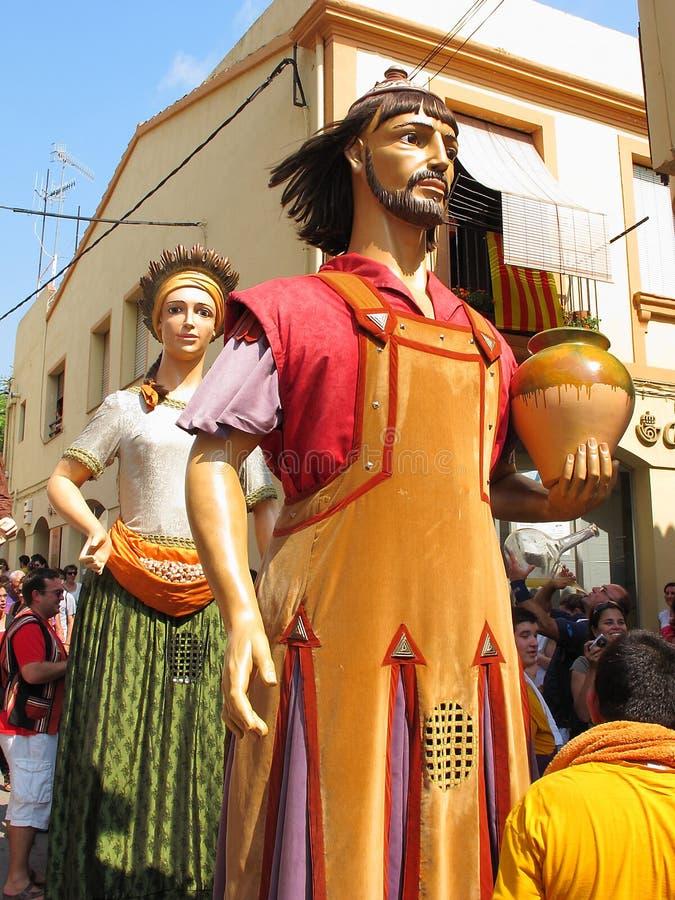 Festival de Verema em Alella fotos de stock royalty free