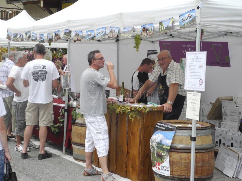 Festival de vin images libres de droits