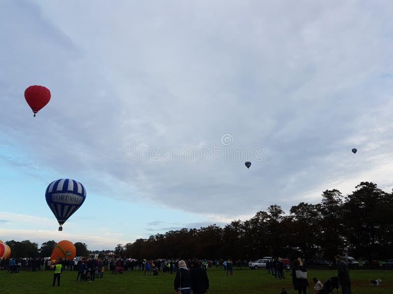 Festival del globo del aire caliente de York imágenes de archivo libres de regalías