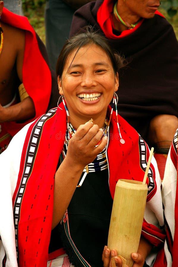 Festival del Hornbill dell'Nagaland-India fotografie stock