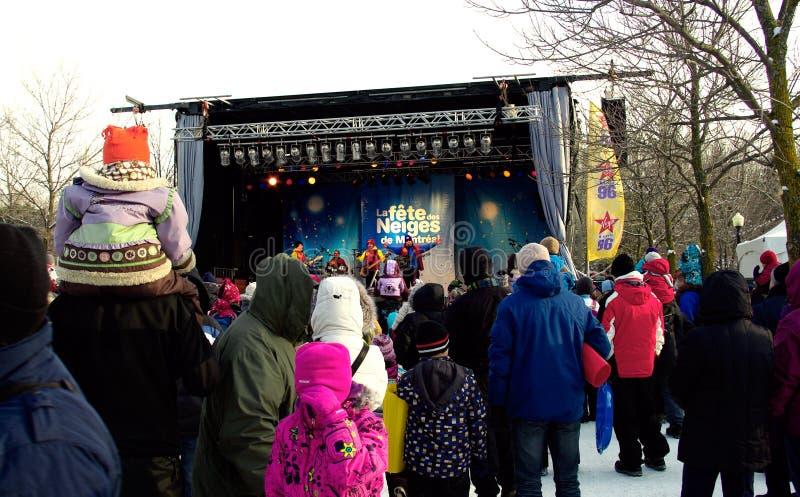 Festival del invierno fotografía de archivo libre de regalías