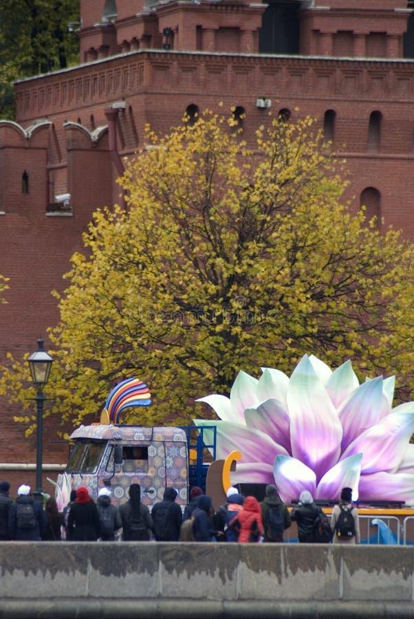 Festival del mondo XIX della gioventù e degli studenti a Mosca fotografie stock libere da diritti