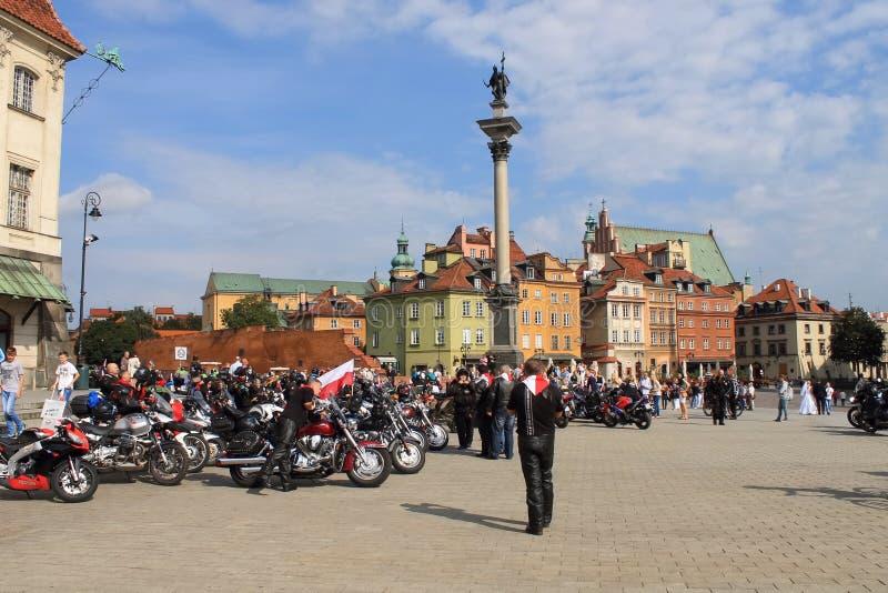 Festival del motociclista a Varsavia immagine stock
