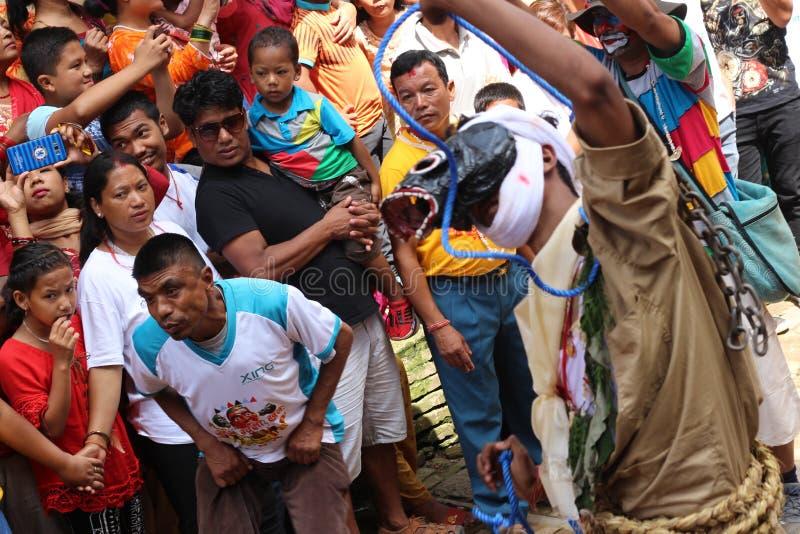 Festival del Nepal fotografia stock libera da diritti