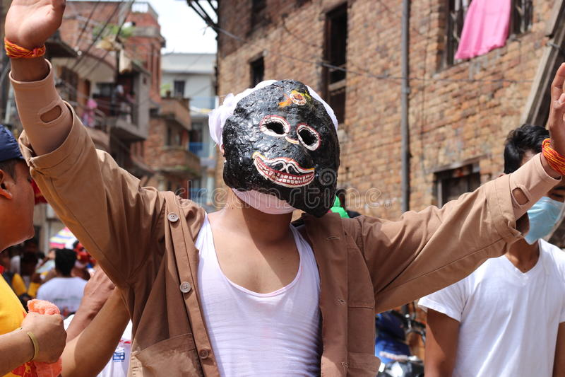 Festival del Nepal immagini stock libere da diritti