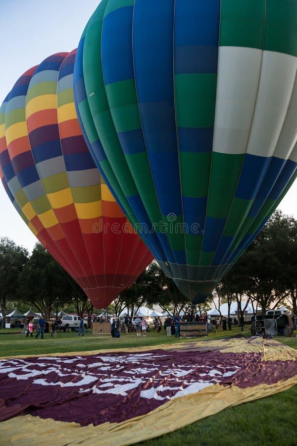 Festival del pallone 2013 e di vino di Temecula fotografia stock