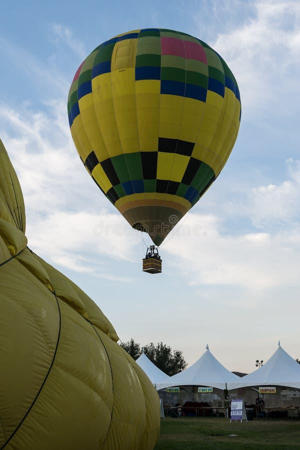 Festival del pallone 2013 e di vino di Temecula immagine stock