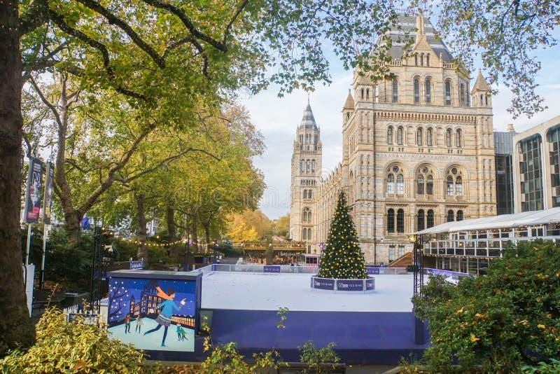 Festival del pattino del Ce al museo nazionale di storia a Londra immagine stock libera da diritti