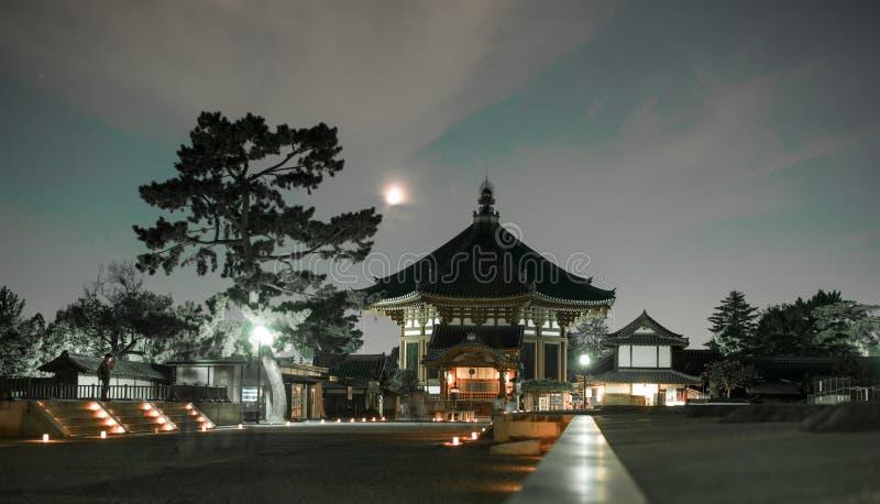 Festival della luce del Giappone Nara nel pasrk immagine stock libera da diritti