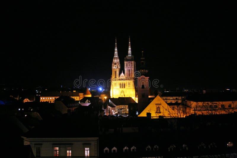 Festival delle luci, Zagabria 2018,26 fotografie stock libere da diritti
