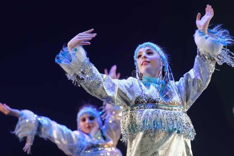 Festival der choreographischen Kunst Pari großartig lizenzfreies stockbild