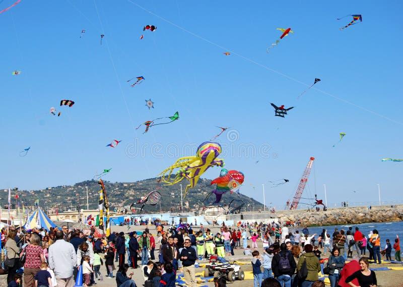 Festival des cerfs-volants images libres de droits