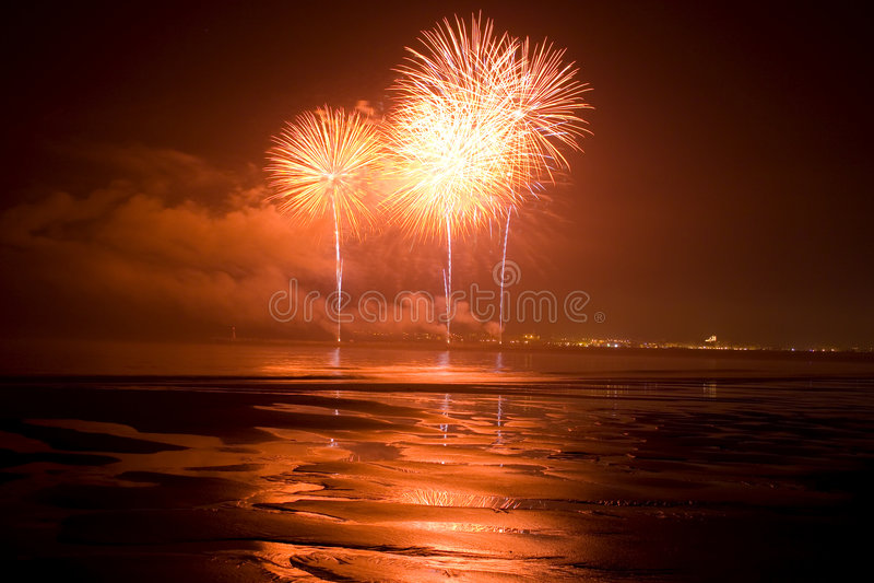 Festival des Feuerwerks lizenzfreies stockbild