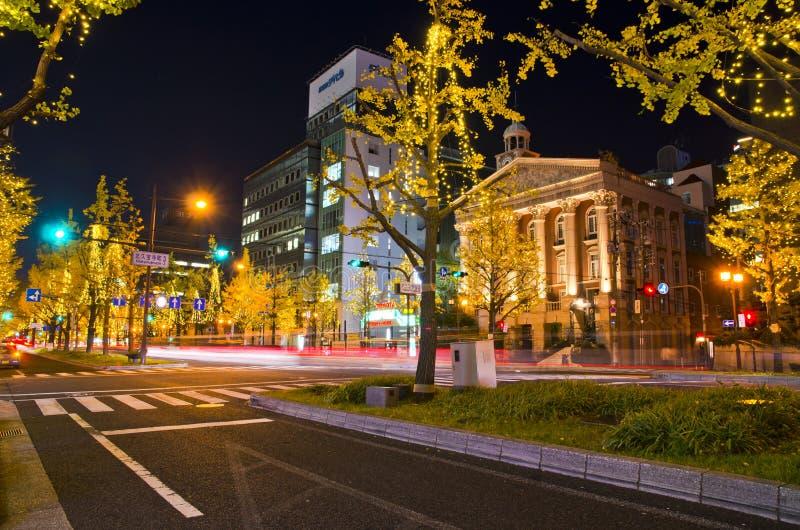 Festival des lumières à Osaka photos libres de droits