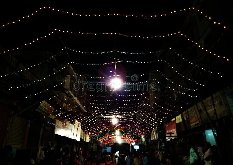 Festival devocional da deusa indiana de Navratri imagens de stock