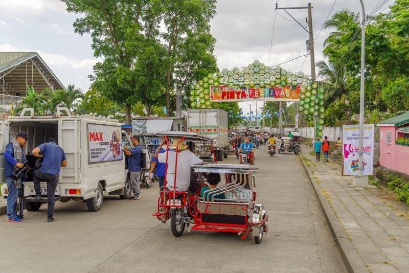 Festival 2017 di Calauan Pinya fotografie stock libere da diritti