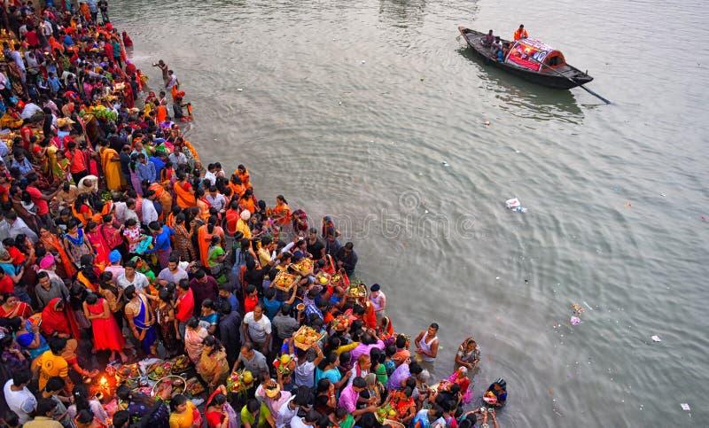 Festival di Chhat immagine stock libera da diritti