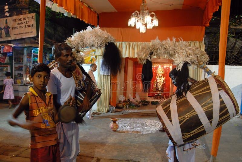Festival di Kali della dea immagine stock
