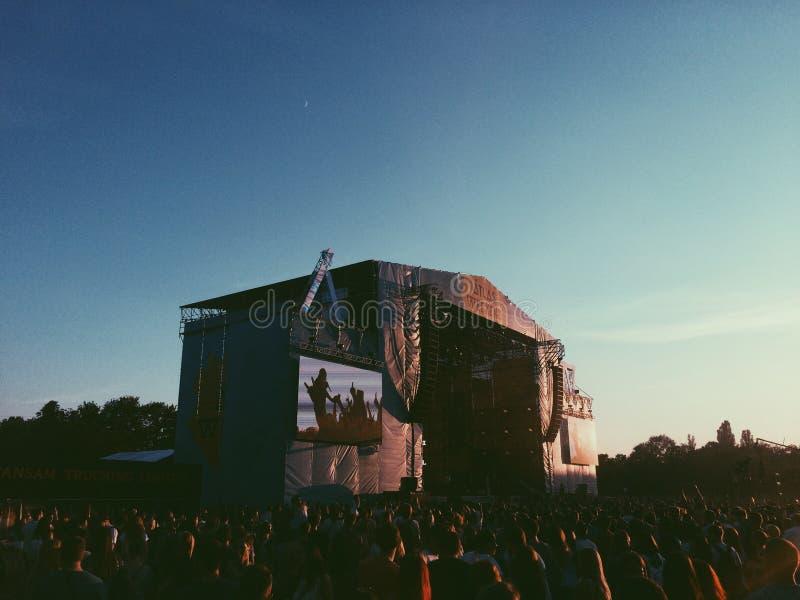 Festival di Kiev di fine settimana dell'atlante fotografia stock libera da diritti