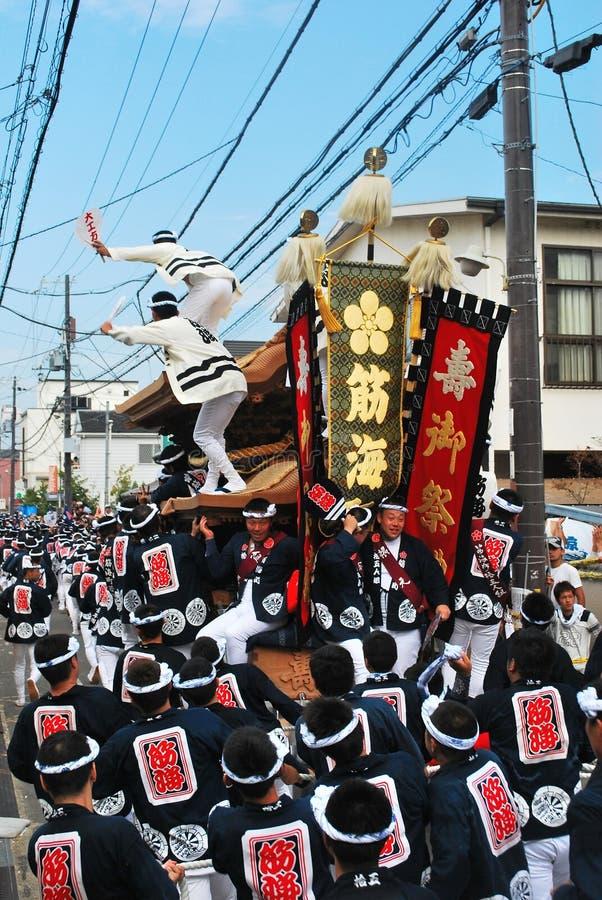 Festival di Kishiwada Danjiri immagine stock libera da diritti