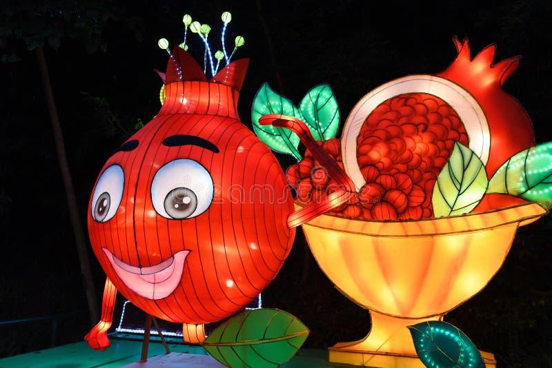 Festival di lanterna lunare cinese del nuovo anno in Canton fotografia stock libera da diritti