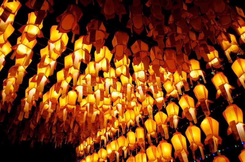 Festival di Loy Kratong fotografie stock libere da diritti