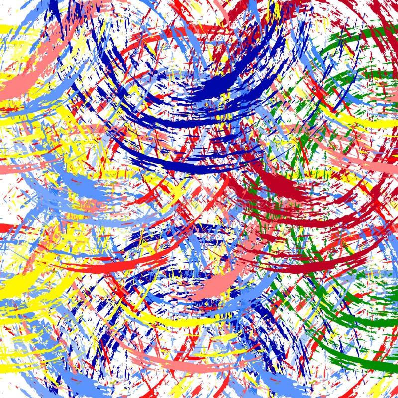 Festival di molla astratto di Holi del fondo di vettore illustrazione vettoriale