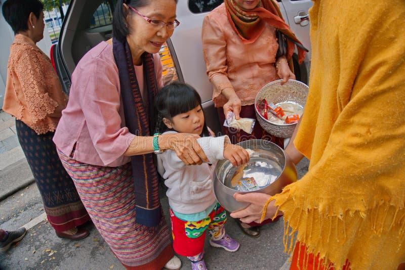 Festival 2019 di offerti dell'alimento del nuovo anno immagini stock libere da diritti