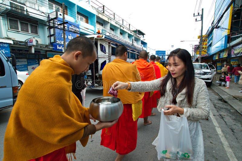 Festival 2019 di offerti dell'alimento del nuovo anno fotografia stock libera da diritti