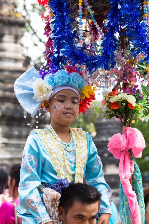 Festival di Poy Sang Long. fotografia stock libera da diritti