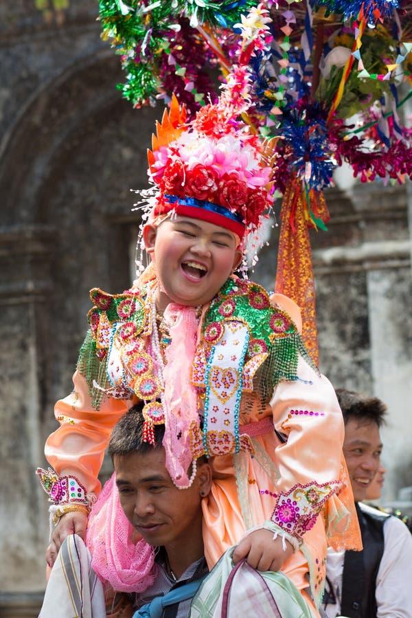 Festival di Poy Sang Long. fotografia stock
