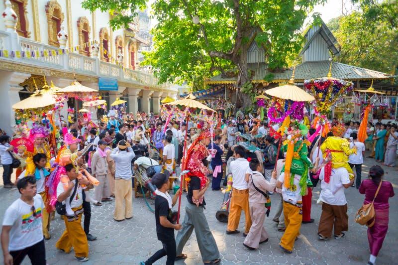 Festival di Poy Sang Long fotografia stock