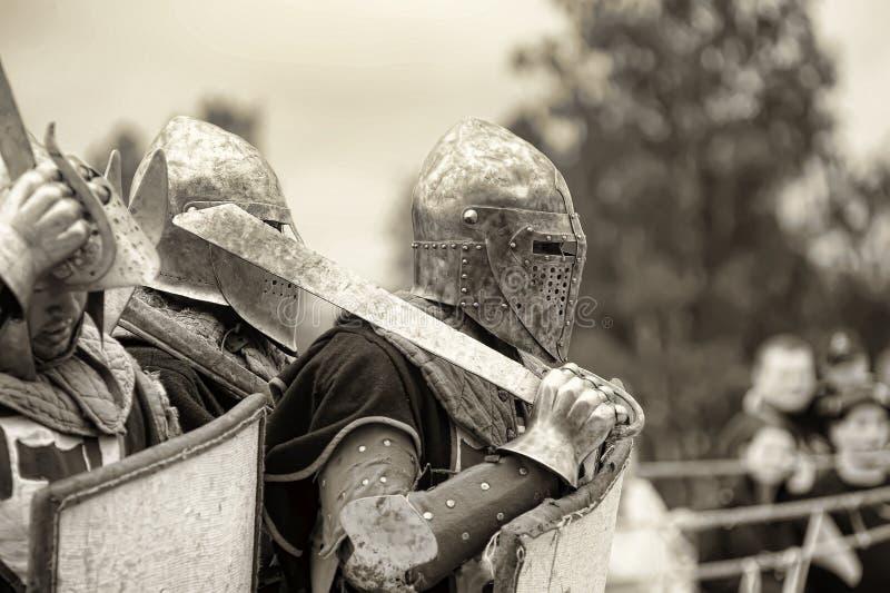 Festival di ricostruzione militare-storica e di cultura medievale immagini stock