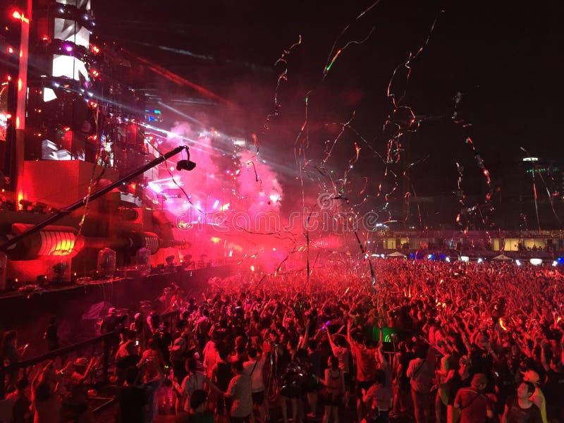 Festival di S2O Songkran in Tailandia immagine stock