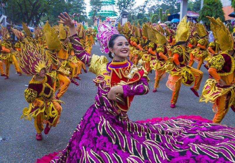 Festival 2018 di Sinulog fotografie stock libere da diritti