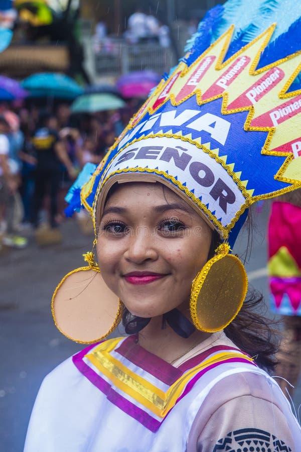 Festival 2019 di Sinulog immagine stock