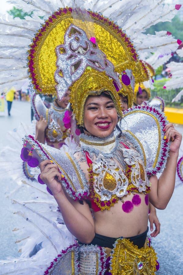 Festival 2019 di Sinulog fotografie stock
