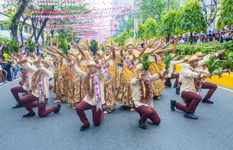 Festival 2019 di Sinulog immagini stock