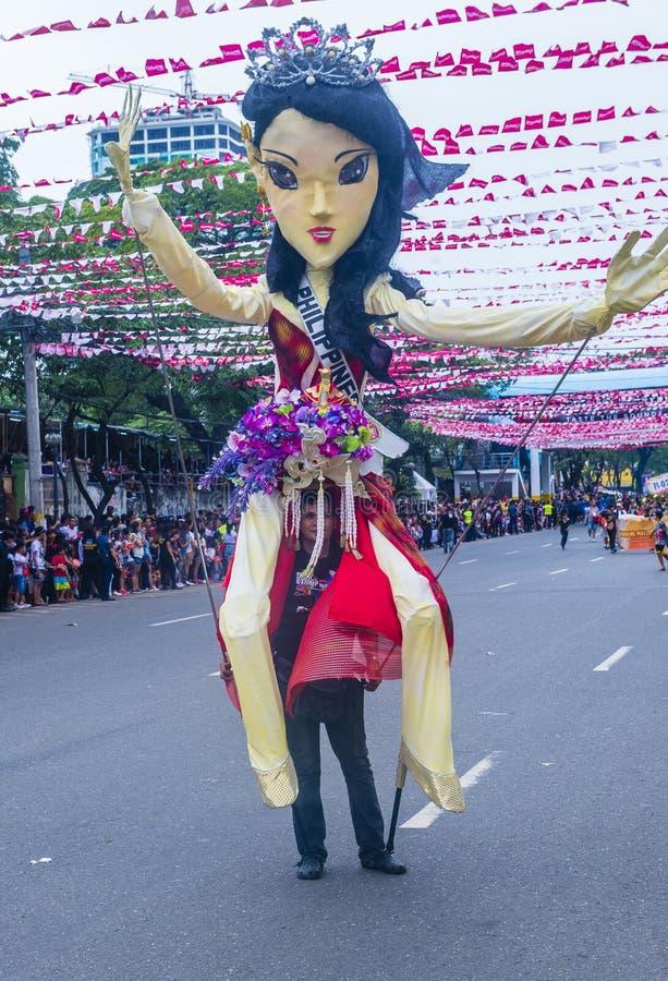 Festival 2019 di Sinulog immagine stock libera da diritti
