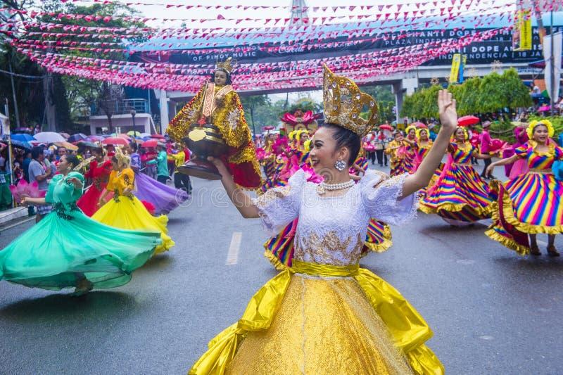 Festival 2019 di Sinulog fotografie stock libere da diritti