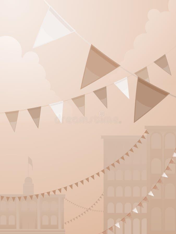 Festival di tono di seppia royalty illustrazione gratis