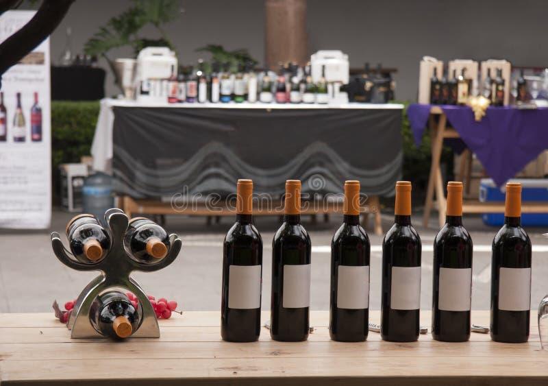 Festival di vino fotografia stock