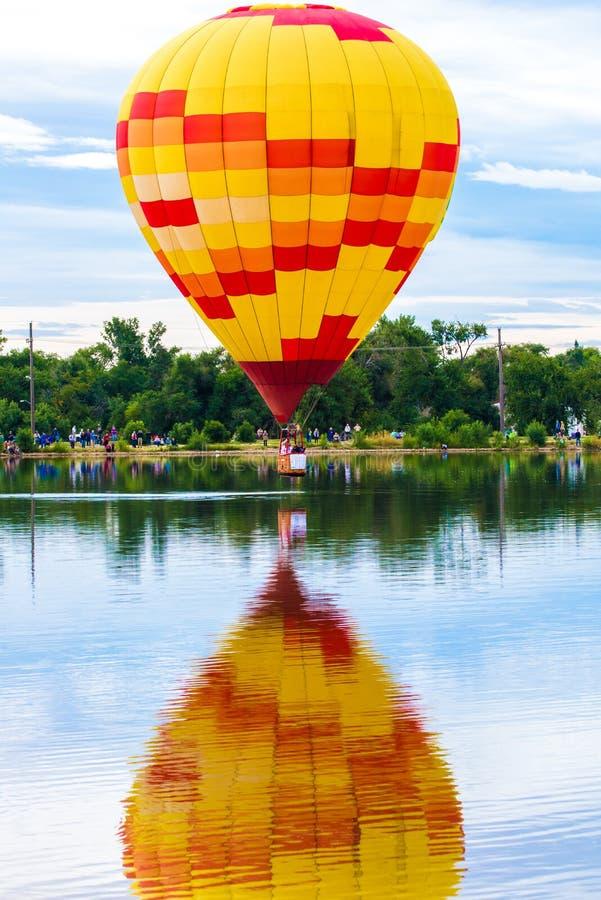 Festival do balão de ar quente fotos de stock royalty free