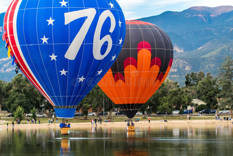 Festival do balão de ar quente imagem de stock