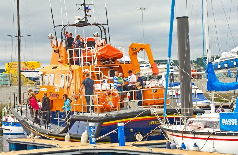 Festival do barco de Inverness. foto de stock royalty free