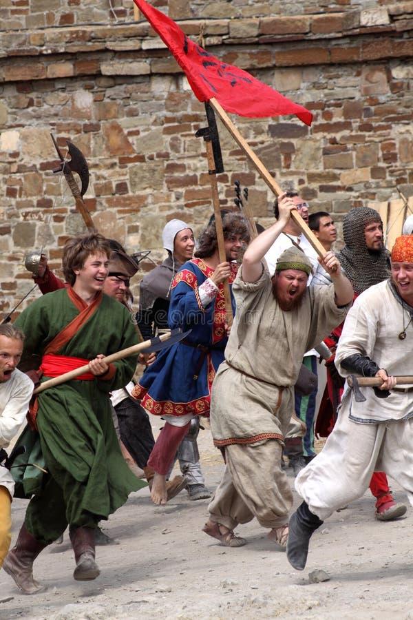 Festival do capacete de Genoa imagem de stock royalty free
