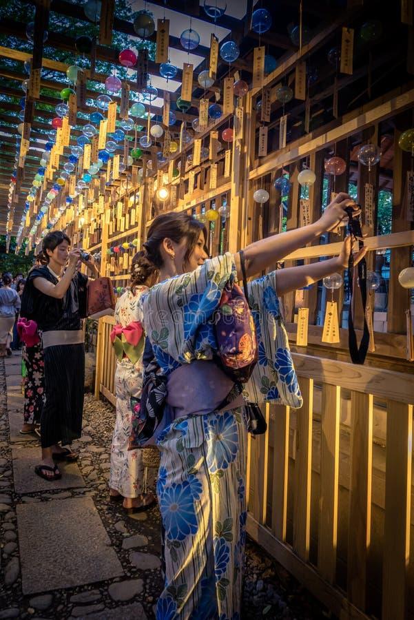 Festival do carrilhão de vento fotos de stock royalty free
