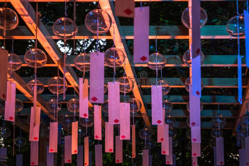 Festival do carrilhão de vento imagens de stock